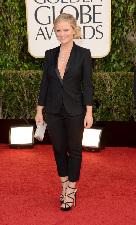 Amy Poehler in a Stella McCartney tux