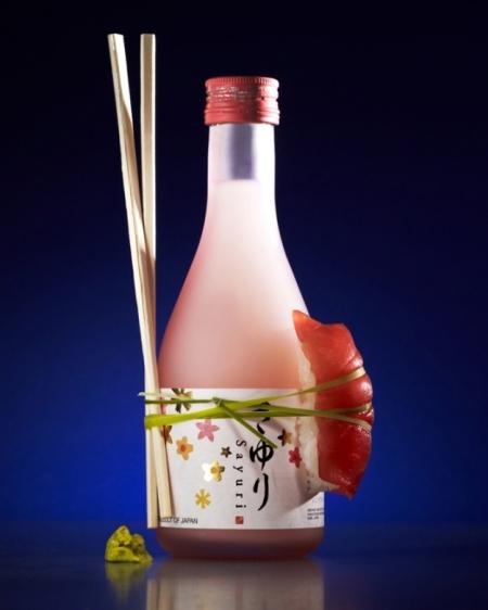 sake and sushi