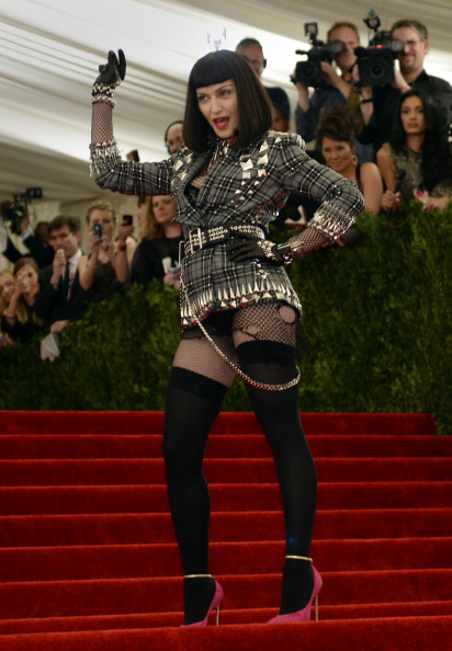 Madonna at the Met