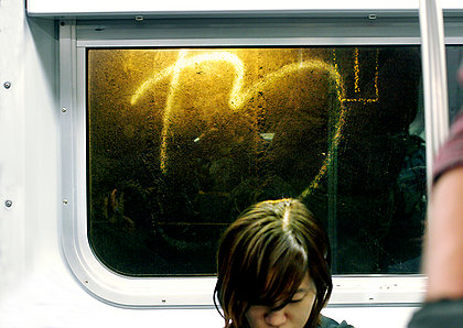 Girl on Subway