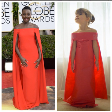 Mayhem and Lupita Nyong'o. Who wore it better?
