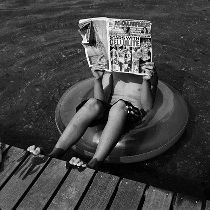 reading, tabloid, newspaper, gossip