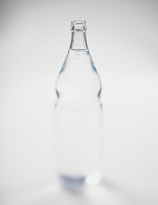 bottles, water, glass