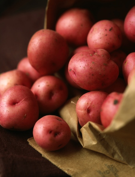 Roseval potatoes