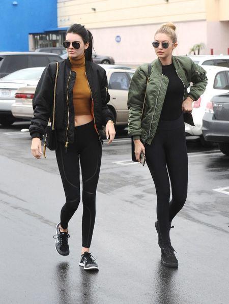 Kendell Jenner + GIgi Hadid via POPSUGAR