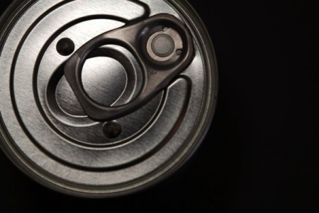 Can With Pull-Tab, High Angle View