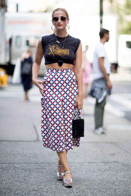 street style via Fashionista