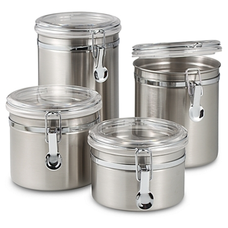 Canisters from Bed Bath and Beyond